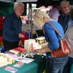 The stallholders were all friendly and welcoming