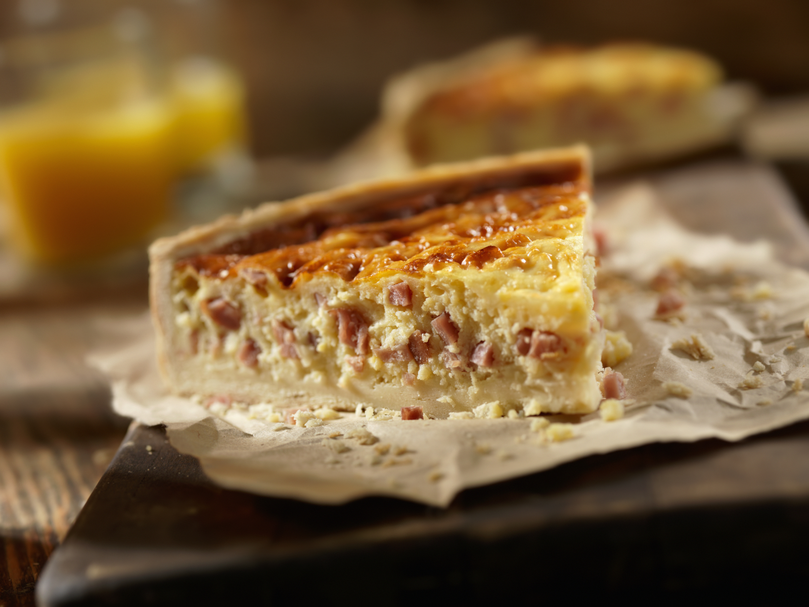 Bacon And Cheese Quiche Recipe For Picnics | Green Blog