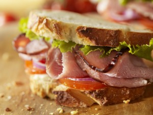 Higher Welfare Food: Rustic Ham Sandwich